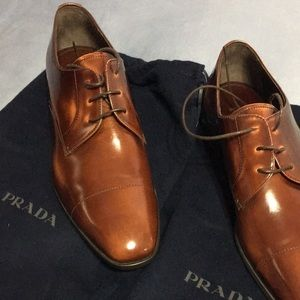 New Prada Men Oxfords